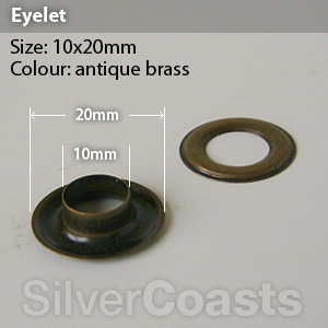 how to set eyelets in leather