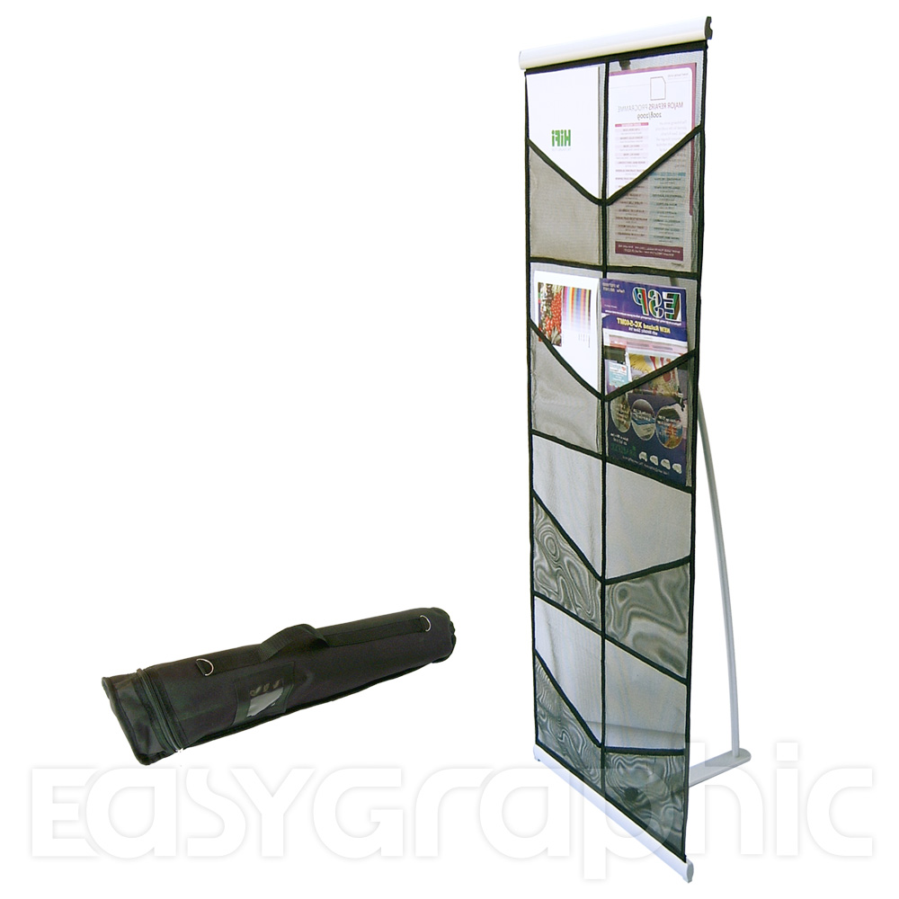 Portable Exhibition Stands In : A brochure holder literature display stand leaflet rack